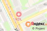 Схема проезда до компании Нафталин в Перми