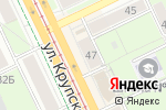 Схема проезда до компании Камея в Перми
