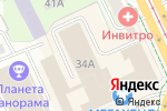 Схема проезда до компании На Дружбе в Перми