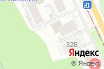 Схема проезда до компании Jet Pizza в Перми