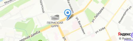 Интеллект-Сервис на карте Перми