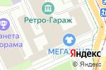 Схема проезда до компании ШинСервис в Перми