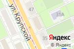 Схема проезда до компании Метелица в Перми