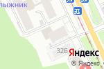 Схема проезда до компании АвтоТочка в Перми