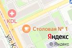 Схема проезда до компании Мясопродукты в Перми