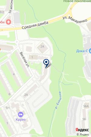 ЛАБУРАЛ на карте Перми