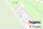 Схема проезда до компании Южное кладбище в Перми