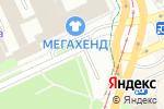 Схема проезда до компании Алекс-Пресс в Перми