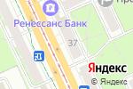 Схема проезда до компании Сеть магазинов тканей и швейной фурнитуры в Перми