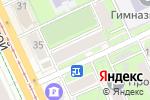 Схема проезда до компании Швейная техника в Перми