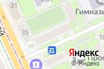 Схема проезда до компании Магазин трикотажных изделий в Перми