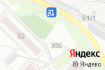 Схема проезда до компании ТераМоторс в Перми