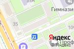 Схема проезда до компании МастерNail в Перми