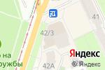 Схема проезда до компании Ваша сумка в Перми