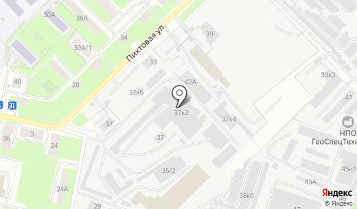 Тандем. Схема проезда в Перми