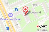 Схема проезда до компании Рекламный Штурман в Перми