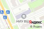 Схема проезда до компании Высшая школа экономики в Перми