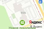 Схема проезда до компании Строительные проекты в Перми