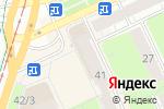 Схема проезда до компании Любимая посуда в Перми
