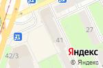 Схема проезда до компании Акварель-М в Перми