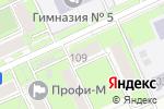 Схема проезда до компании Кнопка в Перми