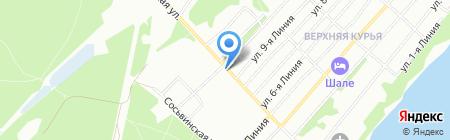 Киоск по продаже хлебобулочных изделий на карте Перми