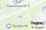 Схема проезда до компании ВеликоЛенское в Перми