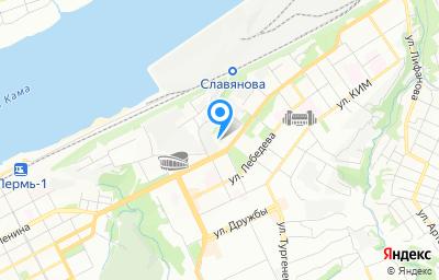 Местоположение на карте пункта техосмотра по адресу г Пермь, ул Уральская, д 102