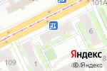 Схема проезда до компании АгроТрейдБилдинг в Перми
