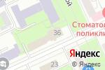 Схема проезда до компании Государственный архив Пермского края в Перми