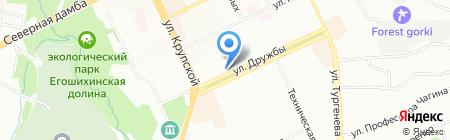 Зазеркалье на карте Перми