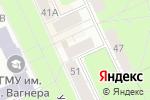 Схема проезда до компании Конфетка в Перми