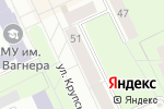 Схема проезда до компании Почта Банк в Перми
