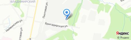 ГлавДоставка на карте Перми
