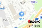Схема проезда до компании Пятая передача в Перми