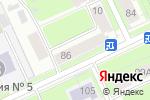 Схема проезда до компании Дозор в Перми