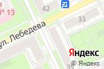 Схема проезда до компании Профи М в Перми
