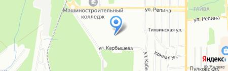 Детский сад №400 на карте Перми