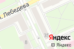 Схема проезда до компании Спас в Перми
