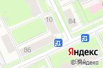 Схема проезда до компании Золотая подкова в Перми