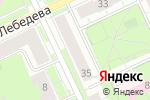 Схема проезда до компании Зазеркалье в Перми
