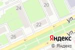 Схема проезда до компании Городские горки в Перми