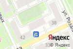 Схема проезда до компании Преодоление в Перми