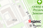 Схема проезда до компании Опора в Перми