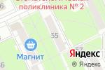 Схема проезда до компании Все для детей в Перми