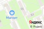 Схема проезда до компании Киоск по продаже хлебобулочных и кондитерских изделий в Перми