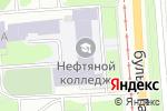 Схема проезда до компании Футбольная школа в Перми