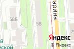 Схема проезда до компании МАДО в Перми