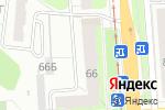 Схема проезда до компании Камелия в Перми