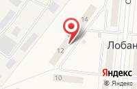 Схема проезда до компании Транспортная компания в Лобаново